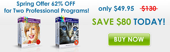 Spring offer! 63% discount for both Programs!