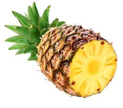 Основа Фотоколлажа Сочный ананас