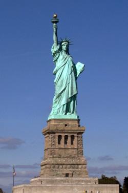 Основа Фотоколлажа Статуя Свободы