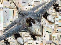 Viele Fotos zum Flugwesen als Fotomosaik.