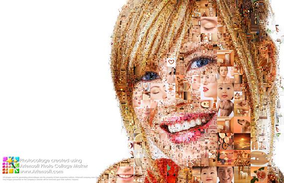 Создание коллажей на примере изображения с белым фоном