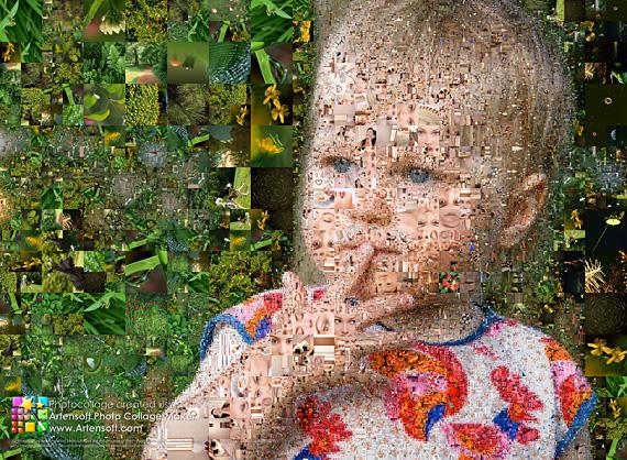 Фотоколлаж детский из фотографий
