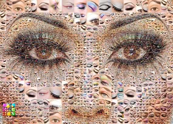 photo collage eye