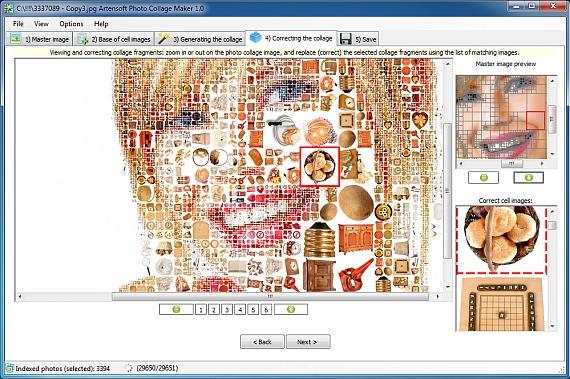 photo collage (correcting)