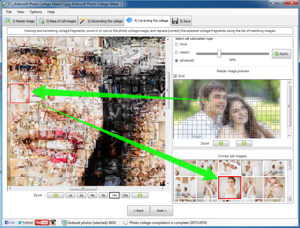 Artensoft Photo Collage Maker Screenshots
