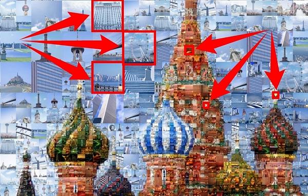 Artensoft Photo Collage Maker позволяет достичь высочайшей детализации при создании коллажа