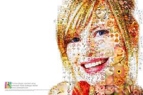 Mit Artensoft Photo Collage Maker erstellte Collage, Fotocollage ohne Photoshop